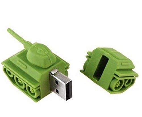 Westeng Memoria Flash USB de 2GB/4GB/8GB/16GB/32GB/64GB ,USB 2.0 Flash Drive de USB Almacenamiento de Datos Externo Diseño de forma de el tanque del juguete size 4GB