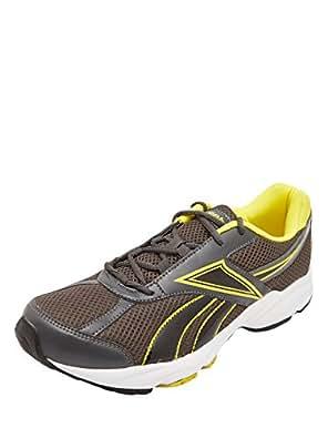 Reebok Men Dark Grey Laceup9 Shoes