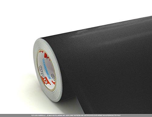 CLICKANDPRINT  3m Klebefolie, 100cm breit, Anthrazit Metallic » PVC-Folie/Vinyl-Folie/Kunststoffolie