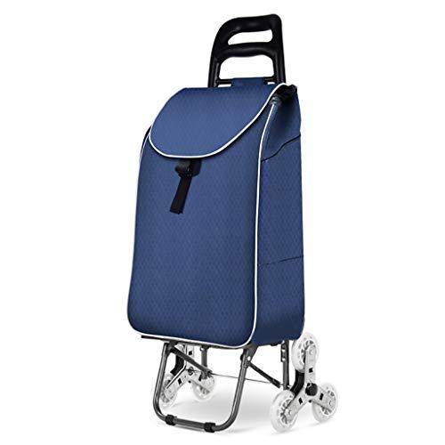 RTTgv Einkaufstrolleys Tragbare Radverschönerung des Einkaufswagens und der beweglichen zusätzlichen Tasche des Einkaufskorbs (Farbe : A)