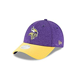 New Era Minnesota Vikings 9forty Women Adjustable NFL 2018 OTC Sideline Purple - One-Size