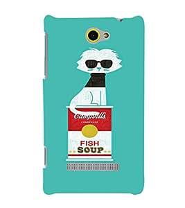 EPICCASE Cool Cat Mobile Back Case Cover For HTC One M10 (Designer Case)
