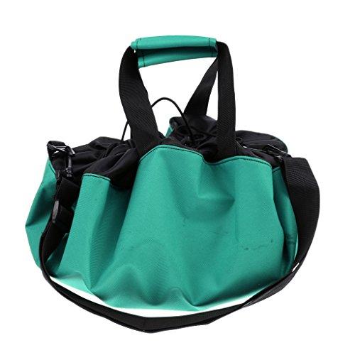 Fenteer Umkleidehilfe Tasche. Ideal für Erwachsene und Kinder - Grün