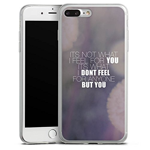 Apple iPhone X Slim Case Silikon Hülle Schutzhülle Sprüche Love Pusteblume Liebe Silikon Slim Case transparent