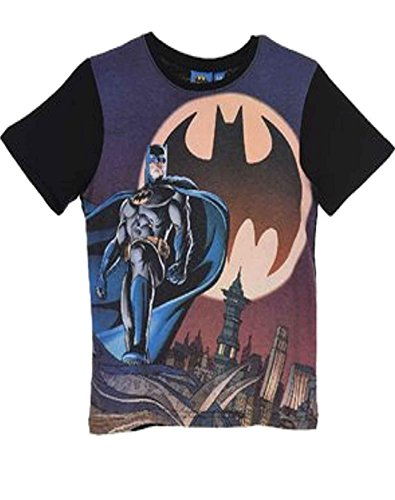 Official Licensed DC Comics Batman Boys Top T-Shirt Age 2 to 8 Years