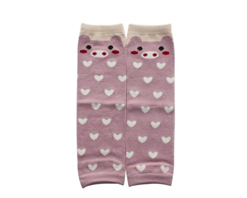 BONAMART ® Baby Kleinkind Mädchen Jungen Kinder Socken Cotton Leggings Legs Wärmer Beinstulpen Babysocken Footless Kniestrumpf Karikatur strickmuster Baumwolle - Länge Leggings Footless Tights