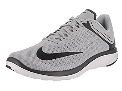 Nike Men's FS Lite Run 4 Running Shoe, Wolf Grey/Black/Anthracite,