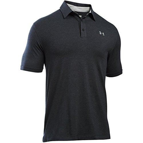 Under Armour - Charged Cotton Scramble Polo Chemise à Manches Courtes - Homme - Gris (Dark Grey) -...