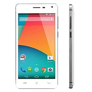 Cubot S200 5,0 pouces HD IPS écran double caméra 4.4 Android MTK6582 Quad-core 1 Go8 Go GPS Smartphone 3G (blanc)