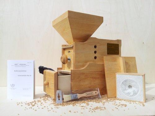 Getreidemühle WIDU Universalmühle Mod. III aus Holz - 8