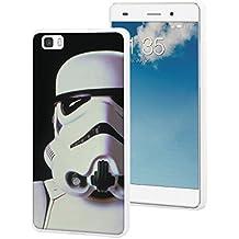 Disney DISSW0002 - Funda TPU deseno Star Wars para Huawei P8 Lite