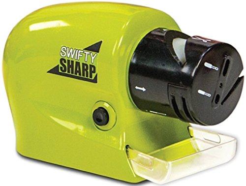 Swifty Sharp Cordless Motorized Knife Sharpener For Knife,Scissor and Screw-Driver