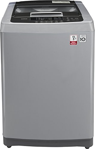 LG 6.2 kg Fully-Automatic Top Loading Washing Machine (T7269NDDLH, Middle Free Silver)
