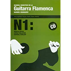 Manual didactico de la guitarra flamenca, 1 (libro+CD)
