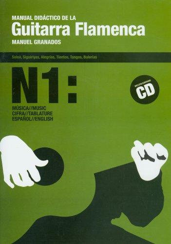 Manual didactico de la guitarra flamenca, 1 (libro+CD) por Manuel Granados