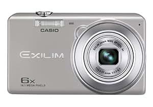 Casio Exilim EX-ZS20 Digitalkamera (16 Megapixel, 6-fach opt. Zoom, 6,9 cm (2,7 Zoll) Display, bildstabilisiert) silber