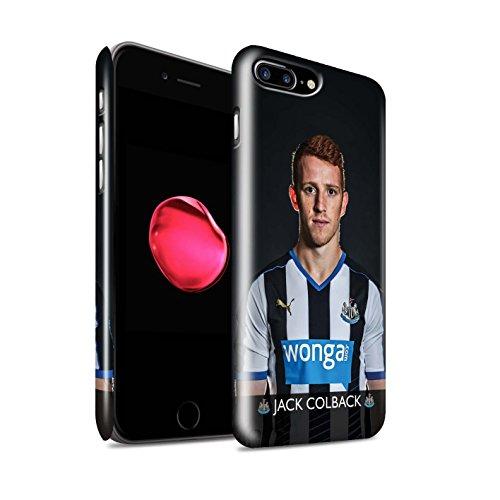 Officiel Newcastle United FC Coque / Clipser Brillant Etui pour Apple iPhone 7 Plus / Sissoko Design / NUFC Joueur Football 15/16 Collection Colback
