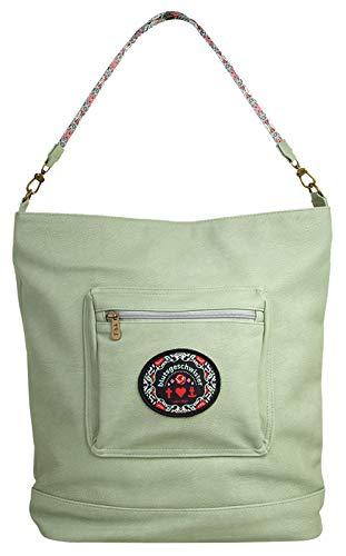 Blutsgeschwister Rucksack-Tasche Vintage Vagabond Kunstfaser Mint Damen - 019980 - Mint Handtasche Rucksack