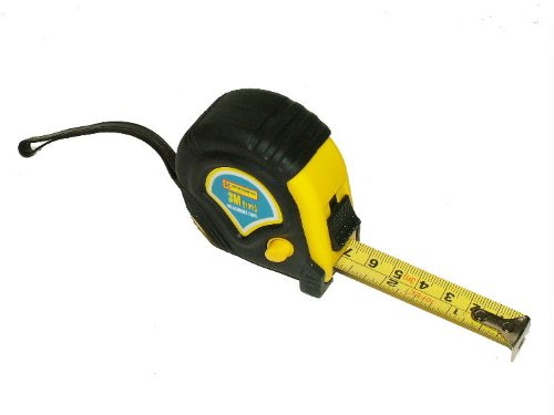 Guilty Gadgets® - 5 m 5 m nastro retrattile DIY serratura