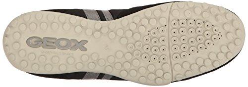 Geox Uomo Snake C, Sneakers Basses Homme Noir (Black/Greyc0017)