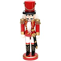 """Cascanueces """"soldado rojo"""" tamaño aprox. 20cm"""