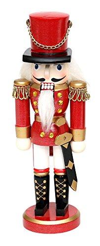 cker Soldat in rot, ca. 15 cm (Nussknacker Dekoration)