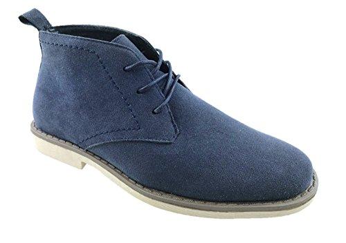 Mc Footwear Ltd, Polacchine Donna, Blu (Marina Militare), 35