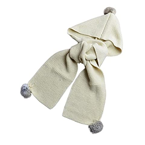 Hats&Scarf, Kingko® Autumn Winter Boys Girls Baby Scarf Cotton O Ring Neck Scarves (Beige)