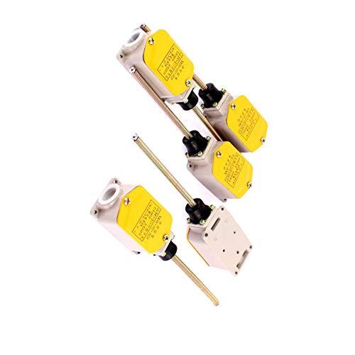 Aexit 5PCS AC380V Gewerbe, Industrie & Wissenschaft 220V Gleichstrom 5A Spring Actuator Momentary CNC Mühle Elektroinstallation Limit Switch -