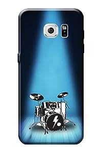 Samsung Galaxy S7 Designer Cover Kanvas Cases Premium Quality 3D Printed Lightweight Slim Matte Finish Hard Back Case for Samsung Galaxy S7