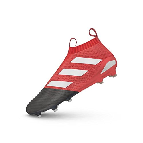 adidas Ace 17+ Pure Control FG Football Boots - Red/White/Core Black - Size 8.5