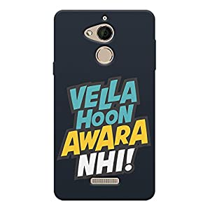 Motivate Box Vella Hoon awara nhi! Quote Design All Side Printed Hard Plastic Phone's Back case/Cover for Coolpad Note 5