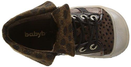 Babybotte Artiste2, Mädchen Hohe Sneakers Beige (407 Noisette Métallisé)