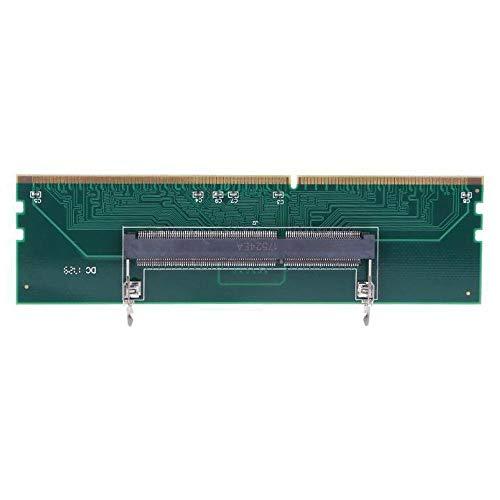 DGdolph Tarjeta adaptadora de Conector de Memoria DDR3 para portátil a Memoria de Escritorio 240 a 204P Verde
