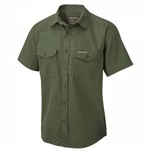 Craghoppers Men's Kiwi Short Sleeved Shirt: Amazon.co.uk