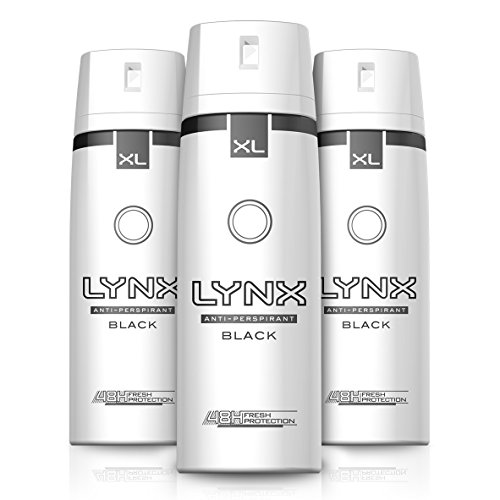 Lynx Dry Black Aerosol Anti-Perspirant Deodorant 200 ml - Pack of 3