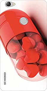 Go Hooked Designer Letv Le 1S Designer Back Cover | Letv Le 1S Printed Back Cover | Printed Soft Silicone Back Cover for Letv Le 1S
