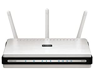 D-Link DIR-655 Wireless N Gigabit Firewall Router - IEEE 802.11n Compliant  - 300Mbps - 10/100/1000Mbps - 4-port switch