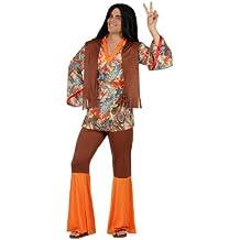 Atosa - Disfraz de hippie para hombre, talla XL (22869)