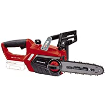 Einhell Cordless Chainsaw GE-LC 18 Li - Solo Power X-Change (18 V, Kickback Protection, Chain Brake and Catch Bolt, Automatic Chain Lubrication, without Battery and Charger)