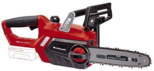 Einhell GE-LC 18 Li Solo - Motosierra a batería Power X-Change 18V, longitud de corte: 23cm, velocidad...