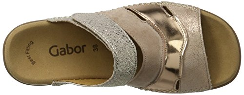 Gabor Fashion, Mules Femme Beige (rame/rouge/rose 64)