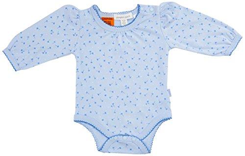 Pumpkin Patch Lace Trim Bodysuit, Combinaison Bébé Fille, Bleu-Dream Blue, 6-9 Mois