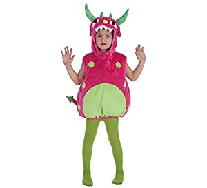 LLOPIS  - Disfraz Infantil Monster Fuxia (5-6 años)