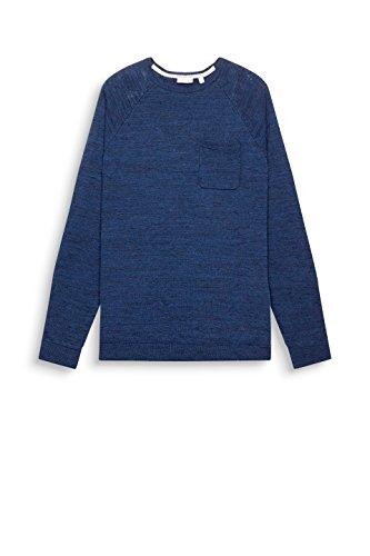 ESPRIT Herren Pullover Blau (Dark Blue 405)