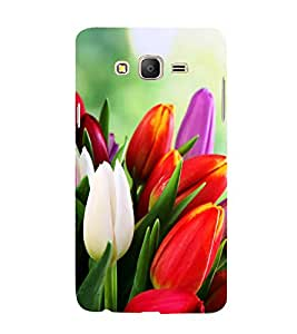 Tulips Hard Polycarbonate Designer Back Case Cover for Samsung Galaxy On7 Pro :: Samsung Galaxy On 7 Pro (2015)