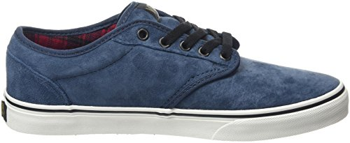 Vans Atwood, Baskets Basses Homme Bleu (MTE Flannel/Navy/Marshmallow)