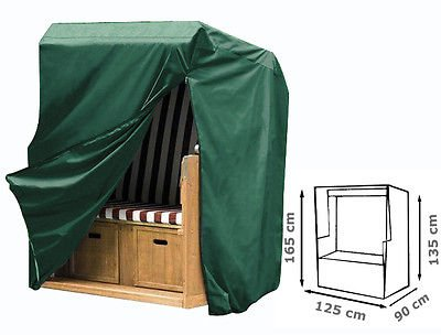 WOLTU Schutzhülle Schutzhaube für Standkorb Gartenmöbel Abdeckplane Abdeckhaube 135-165x125x90cm GZ1160