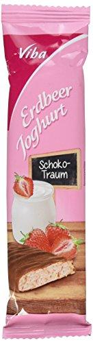 Preisvergleich Produktbild Viba Frucht Genuss Erdbeer Joghurt,  8er Pack (8 x 35 g)