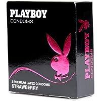 Playboy Strawberry geschmiert Kondome 3�St�ck preisvergleich bei billige-tabletten.eu